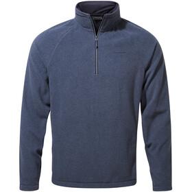 Craghoppers Corey VI Half Zip Shirt Men, blue navy marl